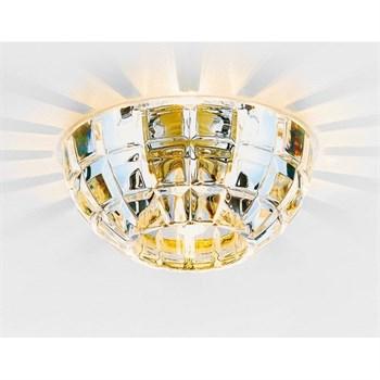 Точечный светильник Дизайн Кристальный D4180 Big CL/G - фото 1016341
