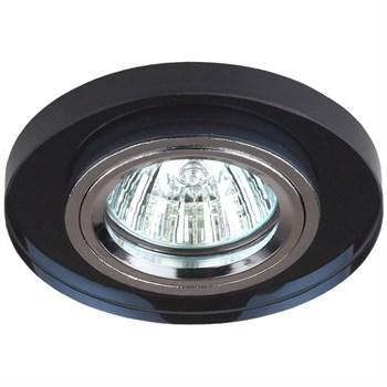 Точечный светильник  DK7 CH/BK - фото 1128582