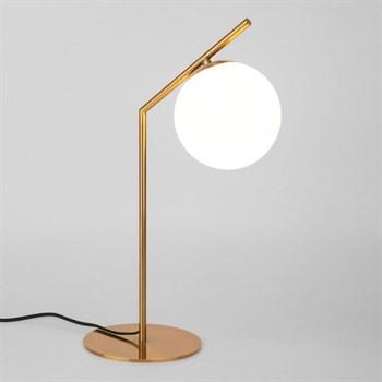 Интерьерная настольная лампа Frost 01082/1 латунь - фото 1132493