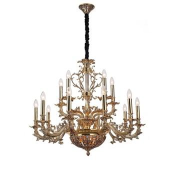 Подвесная люстра Firenze FIRENZE 1780.15.3 antique gold - фото 1137909