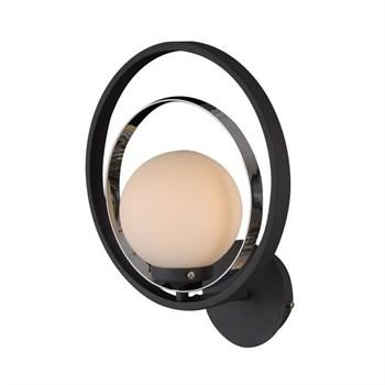Бра Sphere SPHERE 81020-1W SATIN BLACK - фото 1140217