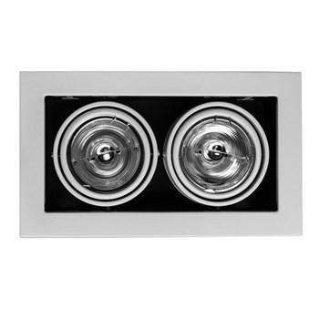 Точечный светильник Cardani Medio A5930PL-2WH - фото 1177833