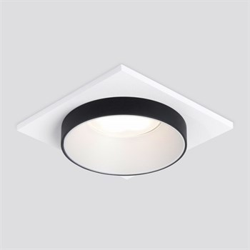 Точечный светильник  116 MR16 белый/черный - фото 1220589