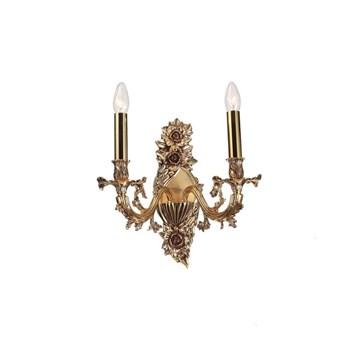 Бра Firenze FIRENZE W1780.2 antique gold - фото 918424