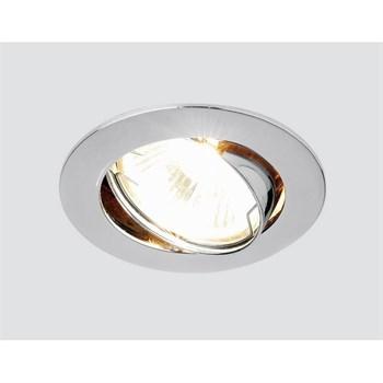 Точечный светильник Литье Штамповка 104S CH - фото 924083