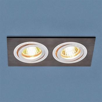 Точечный светильник 1051 1051/2 BK черный - фото 924093