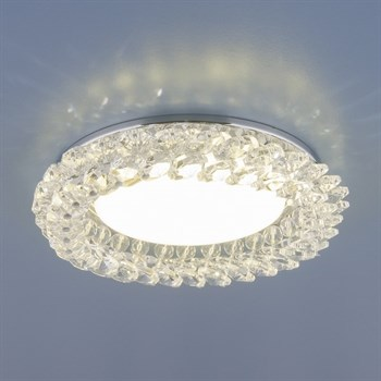 Точечный светильник 1063 1063 GX53 CH / CL хром / прозрачный - фото 924110
