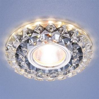 Точечный светильник 2170 2170 MR16 SBK CL дымчатый прозрачный - фото 924470