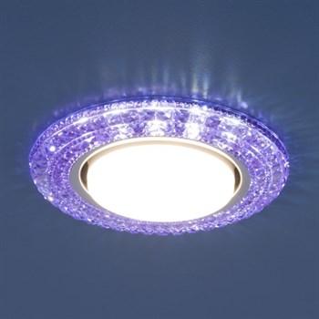 Точечный светильник 3030 3030 GX53 VL фиолетовый - фото 924630