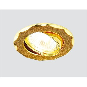 Точечный светильник 611/612 612A GD/GD - фото 924795