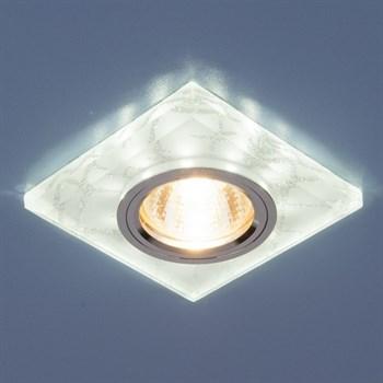 Точечный светильник 8361-8371 8361 MR16 WH/SL белый/серебро - фото 924940