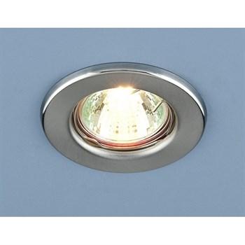 Точечный светильник 9210 9210 MR16 SCH хром сатинированный - фото 924967