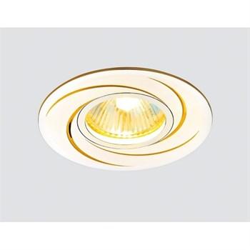 Точечный светильник Алюминий С Узором A506 AL/G - фото 925078