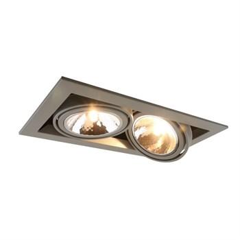 Точечный светильник Cardani Semplice A5949PL-2GY - фото 925093