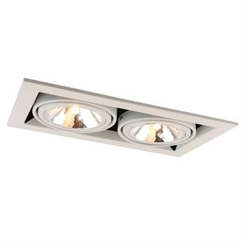 Точечный светильник Cardani Semplice A5949PL-2WH - фото 925094