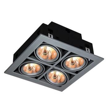 Точечный светильник Cardani Medio A5930PL-4SI - фото 925797