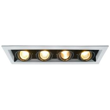 Точечный светильник Cardani  Piccolo A5941PL-4WH - фото 925802