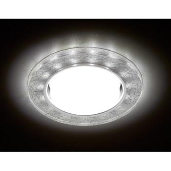 Точечный светильник Gx53+led G248 W/CH - фото 926948