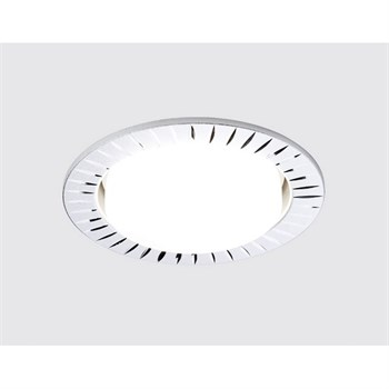 Точечный светильник Gx53 Классика G818 W - фото 926965