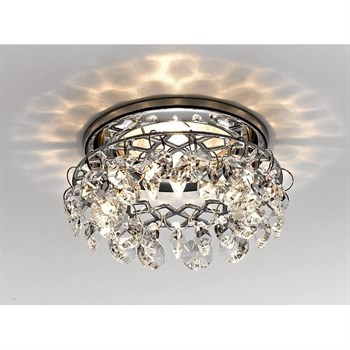 Точечный светильник Хрусталь С Подвесами K7070 CL/CH - фото 927562