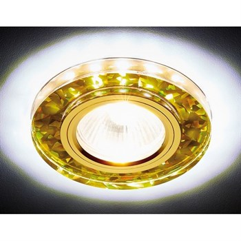 Точечный светильник Декоративные Led+mr16 S225 WH/G/WH - фото 929334
