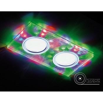 Точечный светильник Декоративные Led+mr16 S234/2 W/CH/M - фото 929345