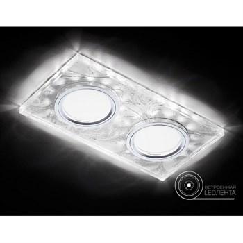Точечный светильник Декоративные Led+mr16 S234/2 W/CH/WH - фото 929346