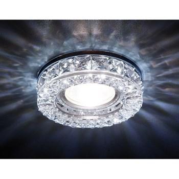 Точечный светильник Декоративные Кристалл Led+mr16 S241 CH - фото 929349