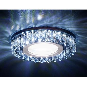 Точечный светильник Декоративные Кристалл Led+mr16 S255 BK - фото 929354
