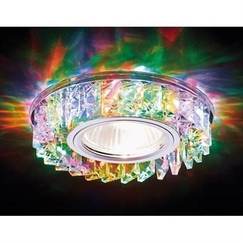 Точечный светильник Декоративные Кристалл Led+mr16 S255 CH/M - фото 929357