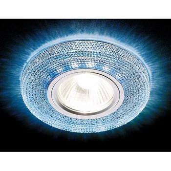 Точечный светильник Декоративные Кристалл Лайт S290 BL - фото 929371