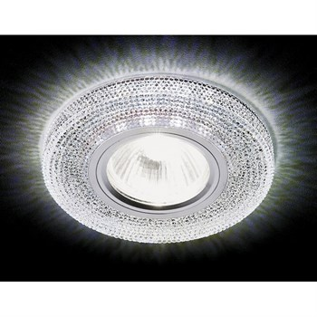 Точечный светильник Декоративные Кристалл Лайт S290 CH - фото 929372