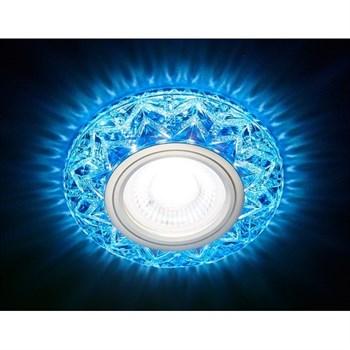 Точечный светильник Декоративные Кристалл Лайт S299 BL - фото 929379