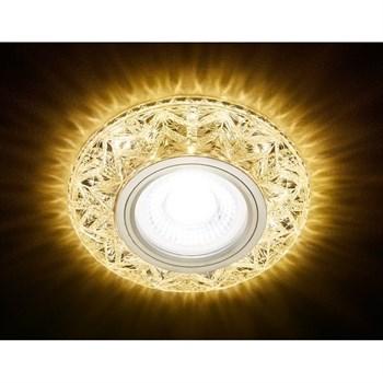 Точечный светильник Декоративные Кристалл Лайт S299 CH/W - фото 929381