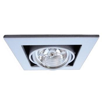 Точечный светильник Cardani Medio A5930PL-1SI - фото 929659
