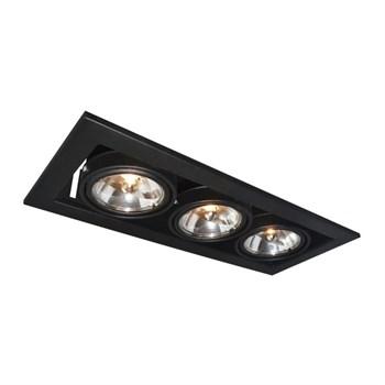 Точечный светильник Cardani Medio A5930PL-3BK - фото 929665