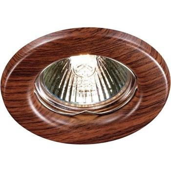 Точечный светильник Wood 369714 - фото 930076