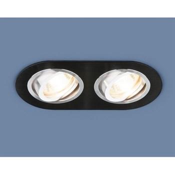 Точечный светильник 1061 1061/2 MR16 BK черный - фото 930345