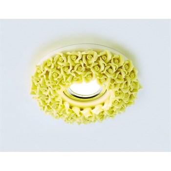Точечный светильник Дизайн С Узором И Орнаментом Гипс D5505 YL - фото 930364