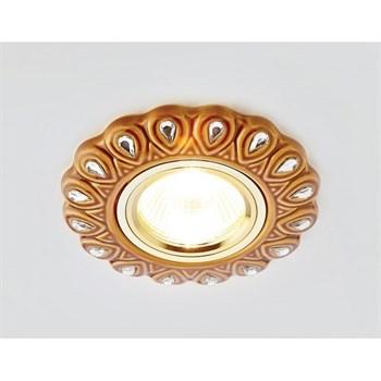 Точечный светильник Дизайн С Узором И Орнаментом Гипс D5540 SB/CL - фото 930461
