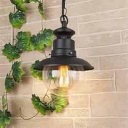 Уличный светильник подвесной Talli черный GL 3002H