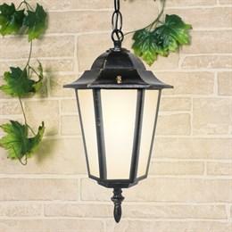 Уличный светильник подвесной Claro GL 1004H черное золото
