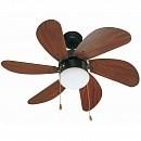 Люстра-вентилятор Palao Brown 33185FAR