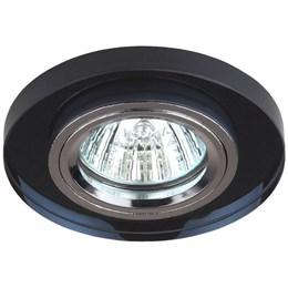 Точечный светильник  DK7 CH/BK