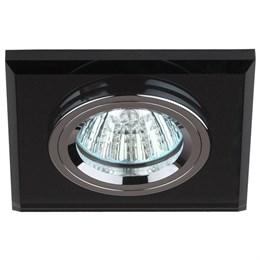 Точечный светильник  DK8 CH/BK