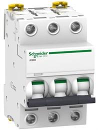 Выключатель автоматический модульный Schneider_Electric 3п C 63А 10кА iC60H Acti9 SchE A9F89363