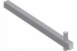 Переходник ОХP6X210 210мм для ручек упр. типа ОТ160...200/250 ABB 1SCA022295R6080
