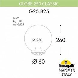 Уличный консольный светильник Globe 250 G25.B25.000.WXE27