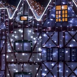 Световой занавес Eurosvet 200-101 2*3м IP65 уличный постоянное свечение белый свет a044057