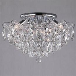Потолочная люстра Crystal 10081/6 хром / прозрачный хрусталь